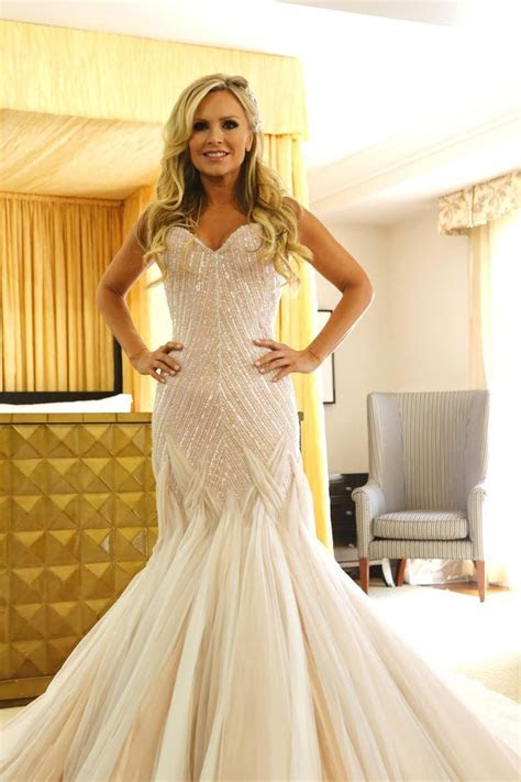 tamra judge wedding dress   Mark Zunino   Wedding