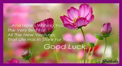 Good Luck For Your New Ventures. Free Good Luck eCards