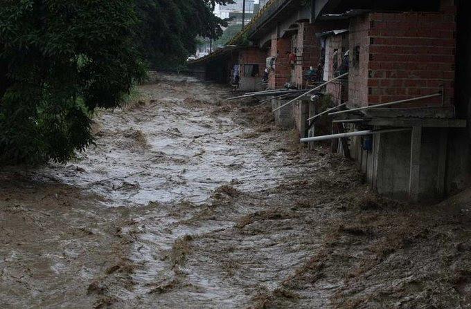 Crecida del Río El Valle en 2011