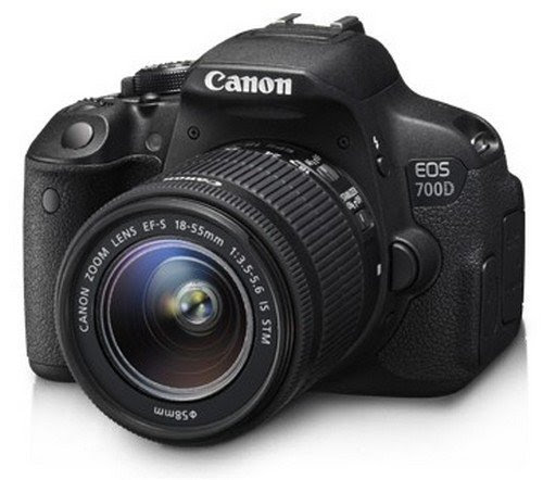 Deals on Canon EOS 700D 18MP Digital SLR Camera