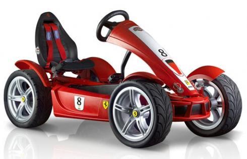Ferrari a Pedal
