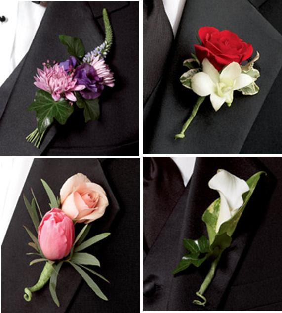 you need to know is that men get boutonnieres and women get corsages
