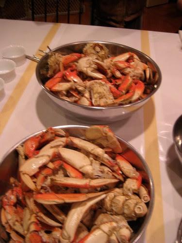Crab for dinner...