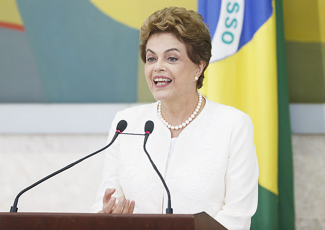 Brasilia,DF,Brasil 28.01.2016 Presidenta Dilma Roussef durante reuniao do conselho de desenvolvimento economico no palacio do planalto. Foto: Pedro Ladeira/Folhapress cod 4847