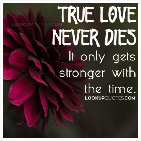 True Love Never Dies It Only Gets Stronger With The Time