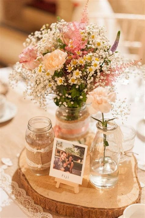 100 Country Rustic Wedding Centerpiece Ideas ? Page 10