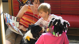 Paws to Read - Thursday evenings 6:30 to 7:30 p.m.