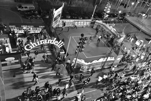 AT&T Park - Coca cola fan lot