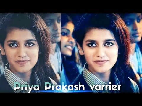 Went Viral With A Wink Varrier Priya Prakash:- (Viral Image Editing) {2018}