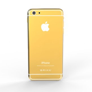 24k Gold Lux White iPhone 6 by BRIKK