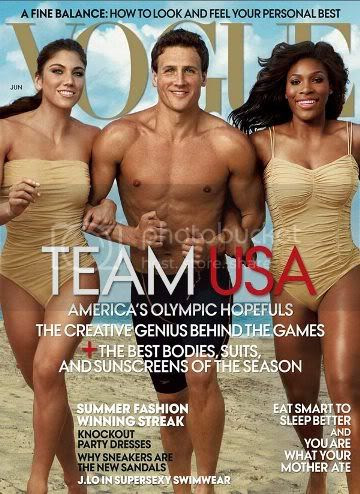 Vogue US Olympics Cover June 2012