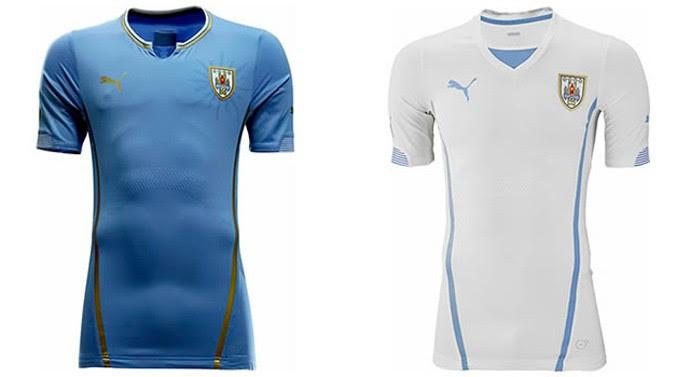 uruguai camisa copa