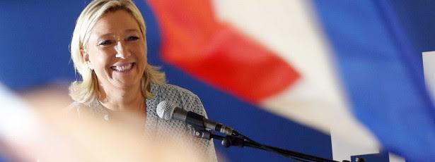 Marine Le Pen critica incoerência dos independentisitas