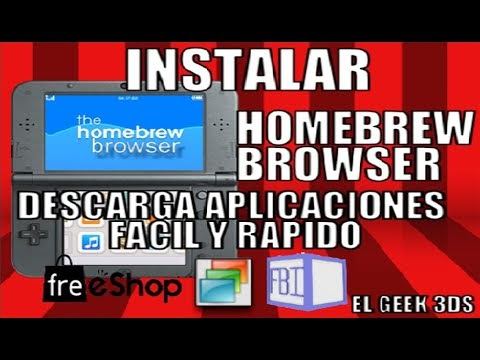 TUTORIAL: INSTALAR HOMEBREW BROWSER (DESCARGA APLICACIONES