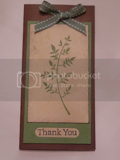stampin up card stem silhouettes