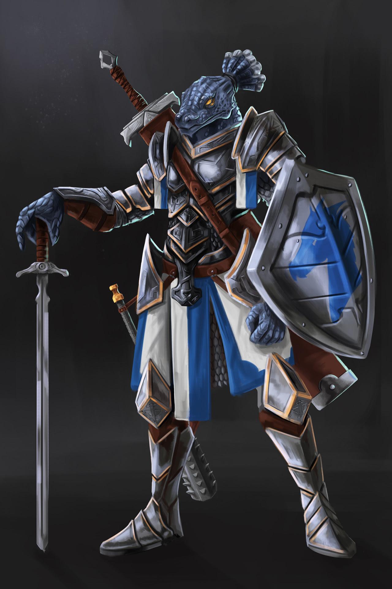 Intelligence Check — D&D 5E NPC - Ghesh Kerrhylon - Dragonborn Paladin