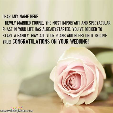 Newly Married Couple Congratulations Images With Name