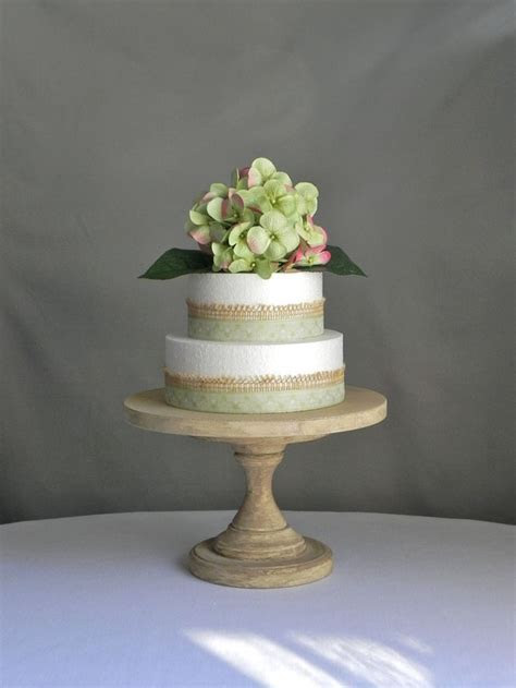 44 best Rustic Wood Cake Stands images on Pinterest   Cake