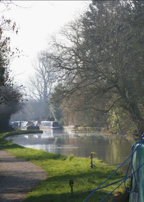 Grand Union Canal from Leighton Lock