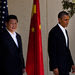 President Xi Jinping of China and President Obama appeared on Friday at Sunnylands, an estate in Rancho Mirage, Calif.