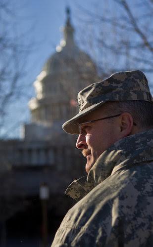 El teniente coronel Daniel L. Davis. Foto: The New York Times.