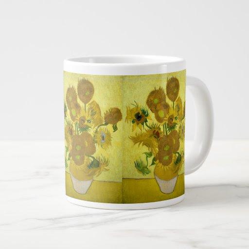 Van Gogh Sunflowers Giant Coffee Mug | Zazzle