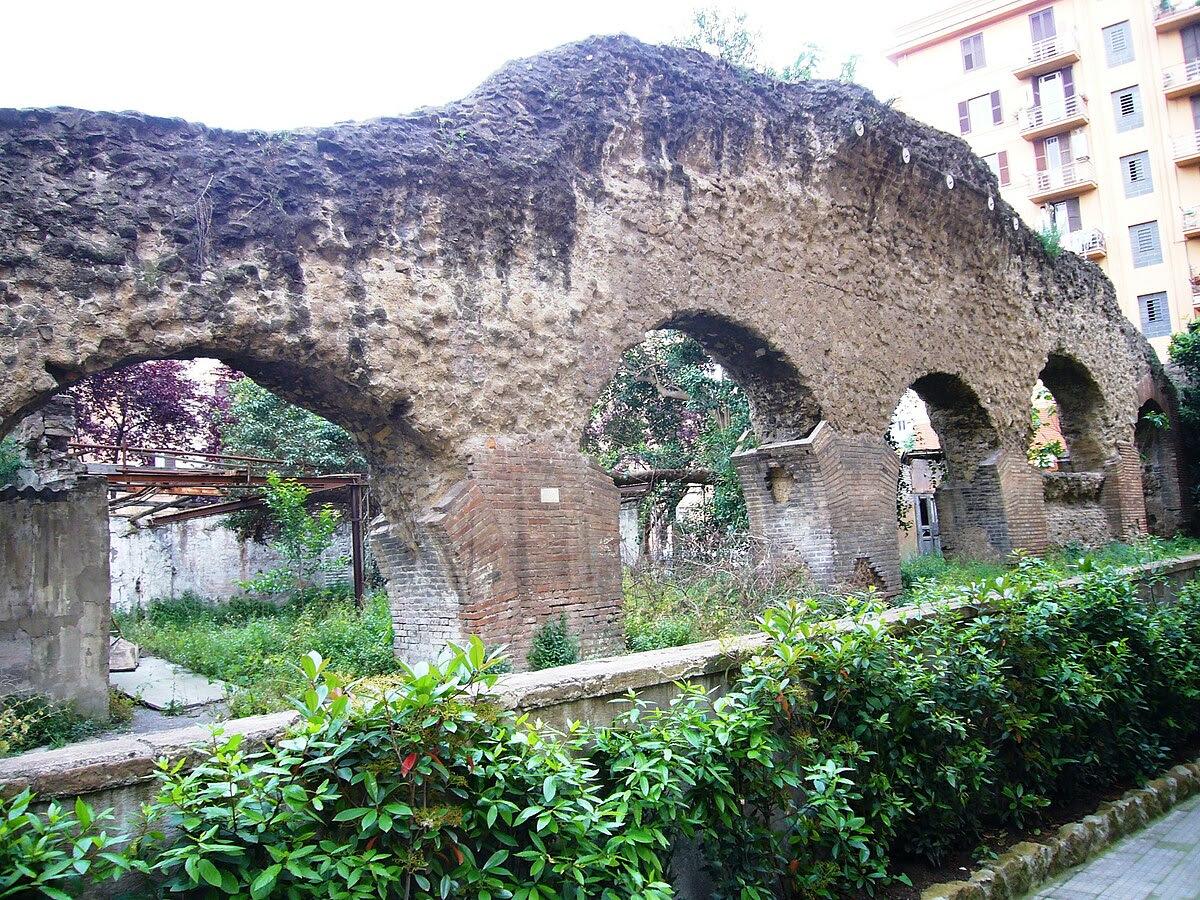 Fil: Testaccio - porticus Aemilia 1120517.JPG