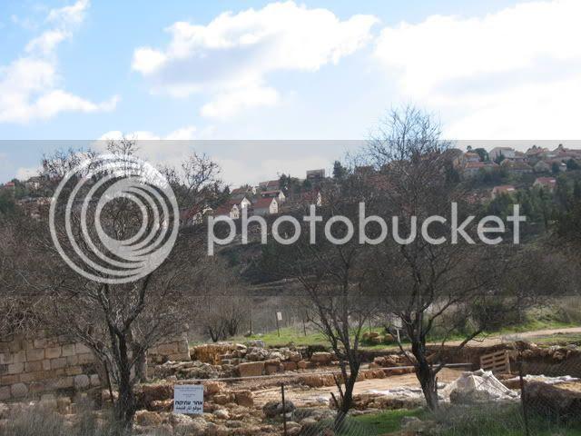 Tel Shiloh, and modern Shiloh