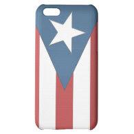Puerto Rican Flag Case iPhone 5C Cases