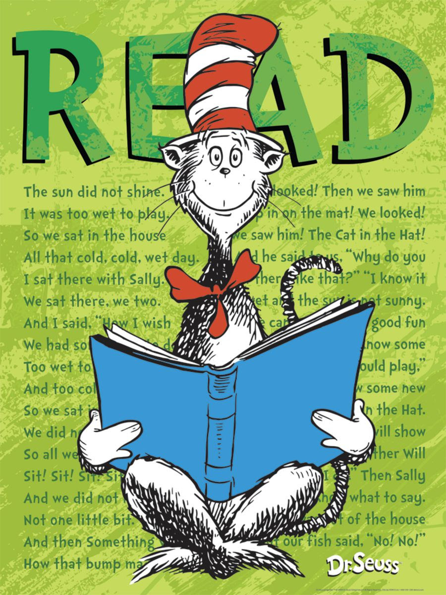 Dr. Seuss™ Reading Promotions - Gresswell Specialist ...