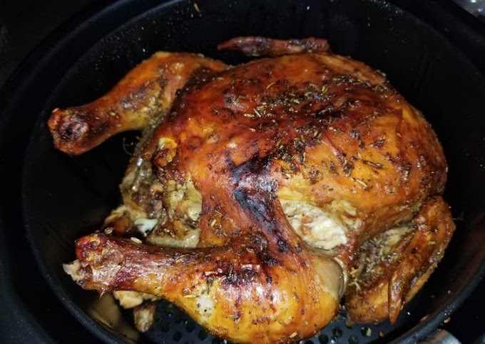 Steps to Prepare Speedy Whole chicken in airfryer