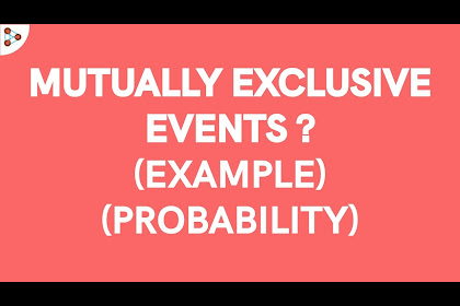 Mutually Exclusive Events Formula