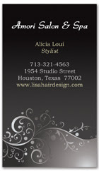 BCS-1040 - salon business card