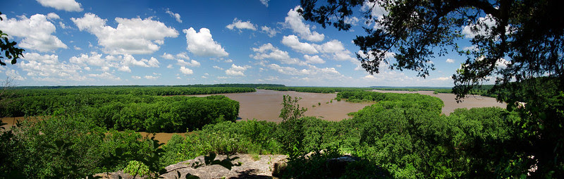 The Mississippi from Indiana Head