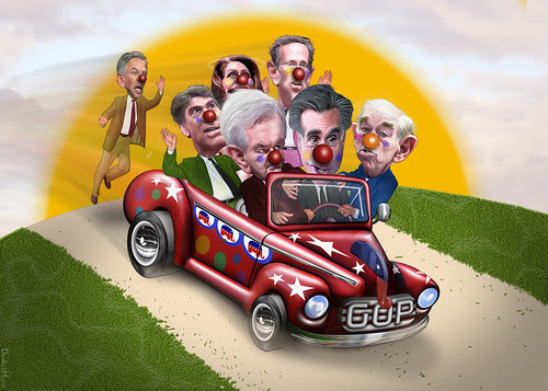 In Memory Of: The 2012 Clown Car Primary