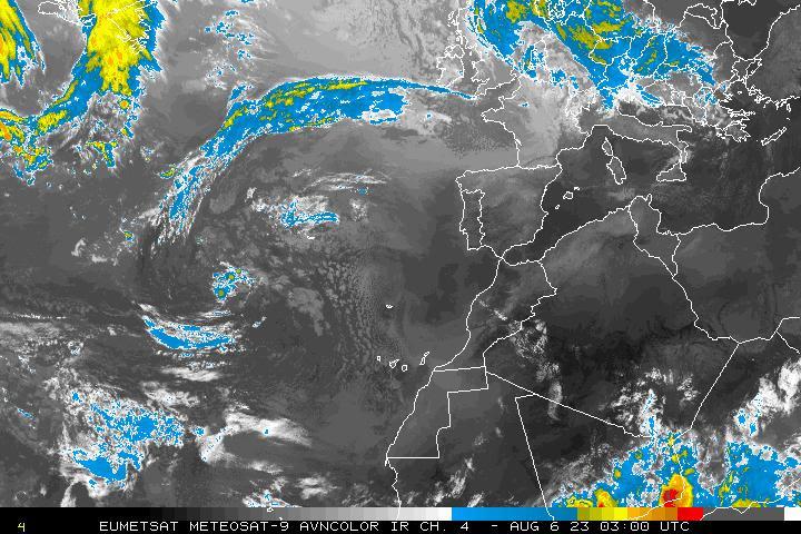 Radar lluvias Europa