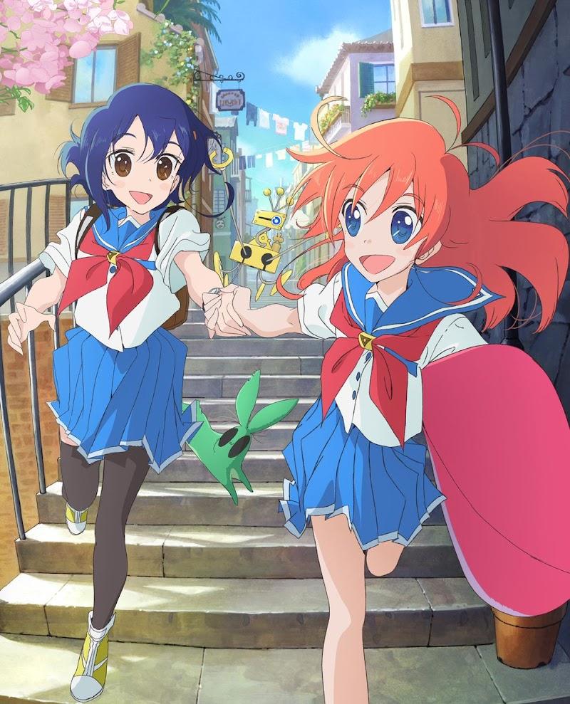 Flip Flappers Anime completo subtitulado al Español [13/13] MEGA