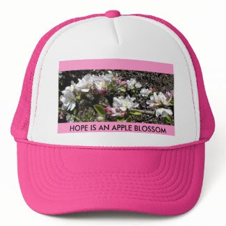 HAT: HOPE IS AN APPLE BLOSSOM hat