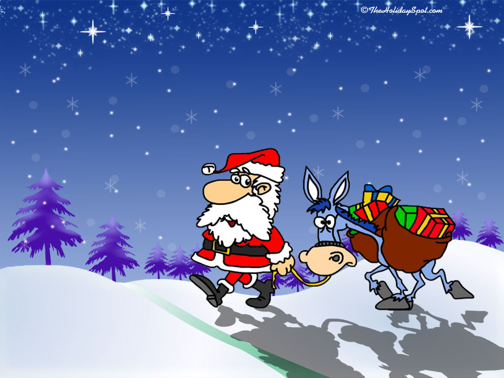 Funny Christmas Desktop Backgrounds Wallpapers Abstract