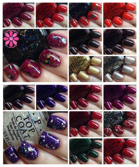 OPI Gwen Stefani Holiday 2014 Collection Swatches & Review