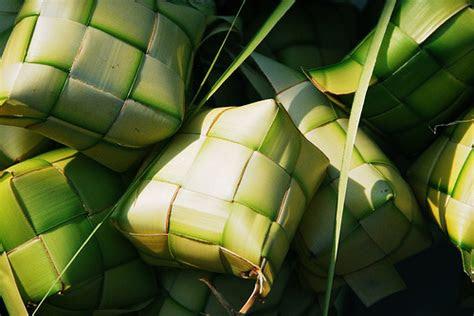 gambar ketupat  lebaran idul fitri   kata