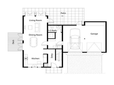 simple house floor plan simple square house floor plans