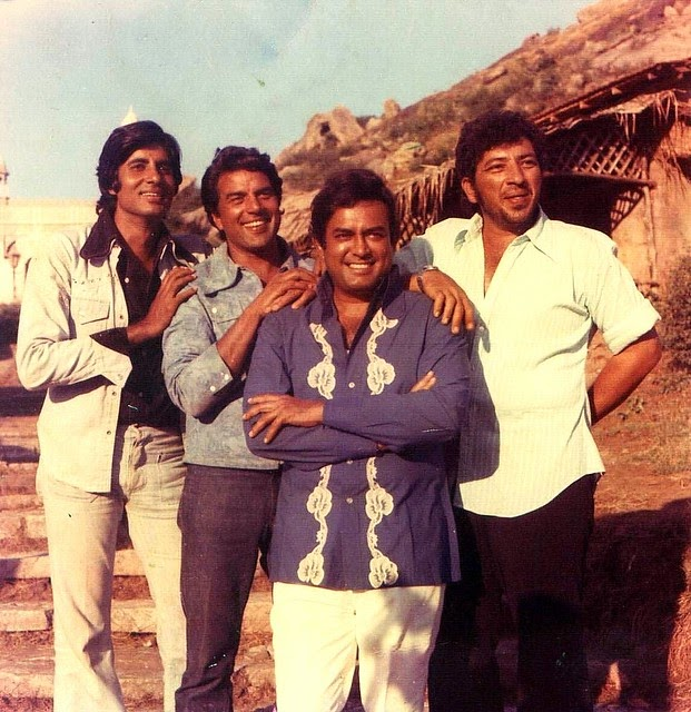 Bollywood's Most Iconic Characters - Jai, Veeru & the Cast of Sholay