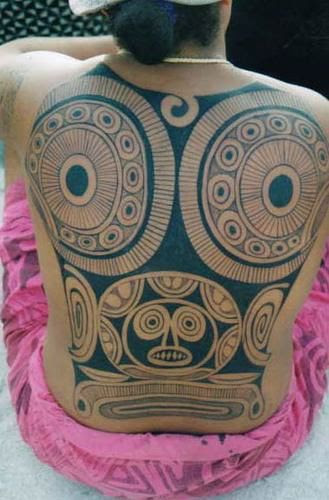 polynesian tattoo art