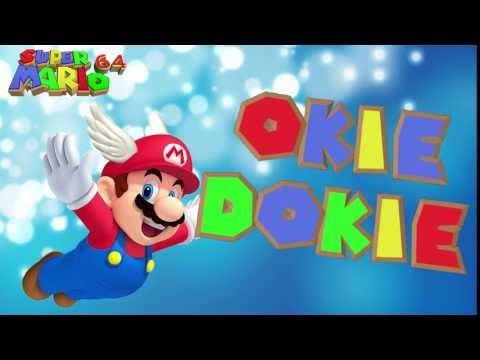 Super Mario ] Mario - OKIE DOKIE ! Sound Effect [Free