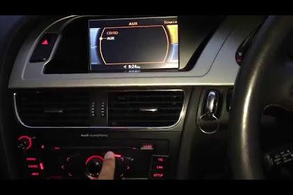 2013 Audi A4 Aux Input Location