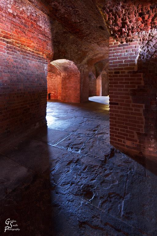 fort zachary taylor corridors