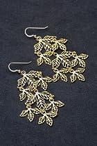 Kipepeo Majani Earrings