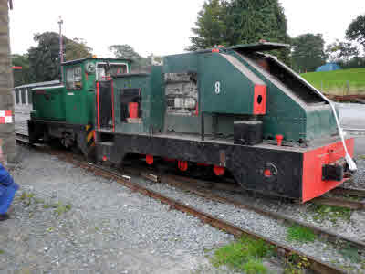 Getting it out at Minffordd, 19 Sept 2014