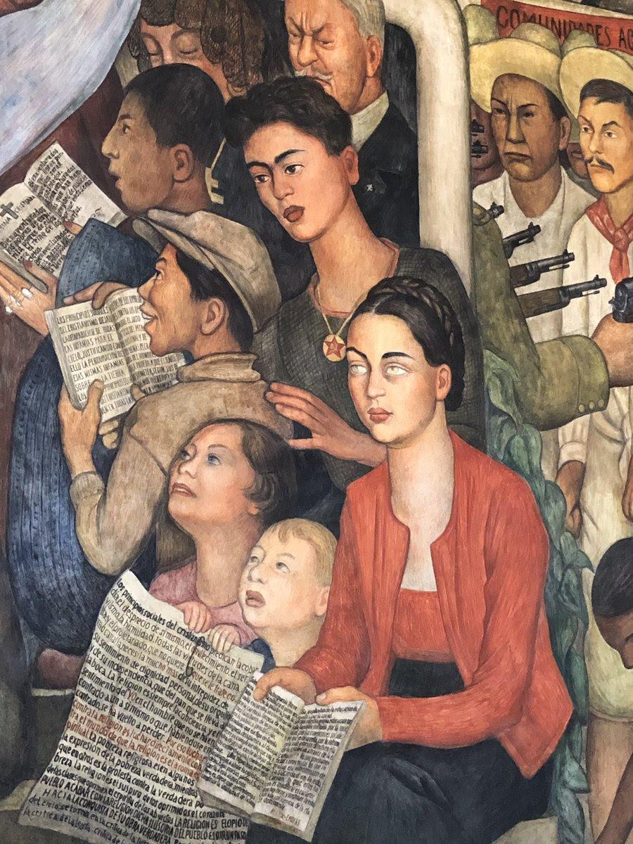 Murales Que Hizo Frida Kahlo